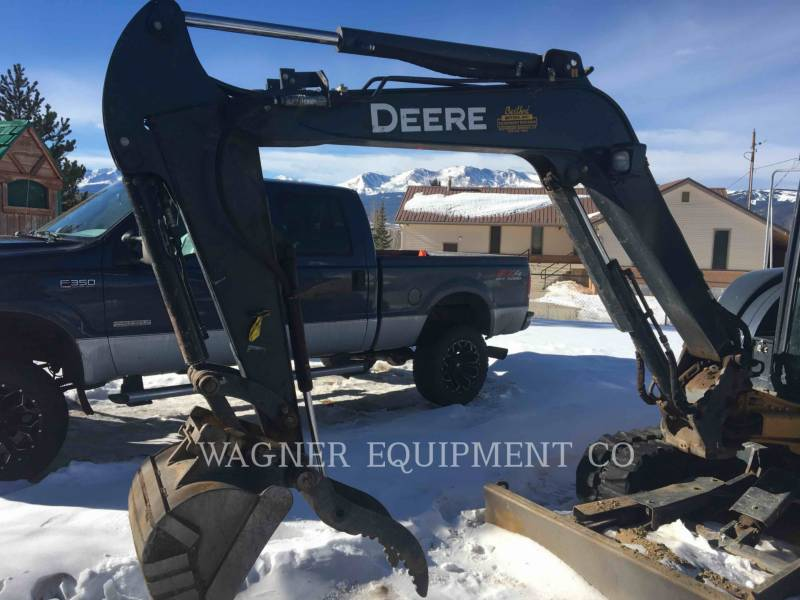 JOHN DEERE PELLE MINIERE EN BUTTE 50GS equipment  photo 2
