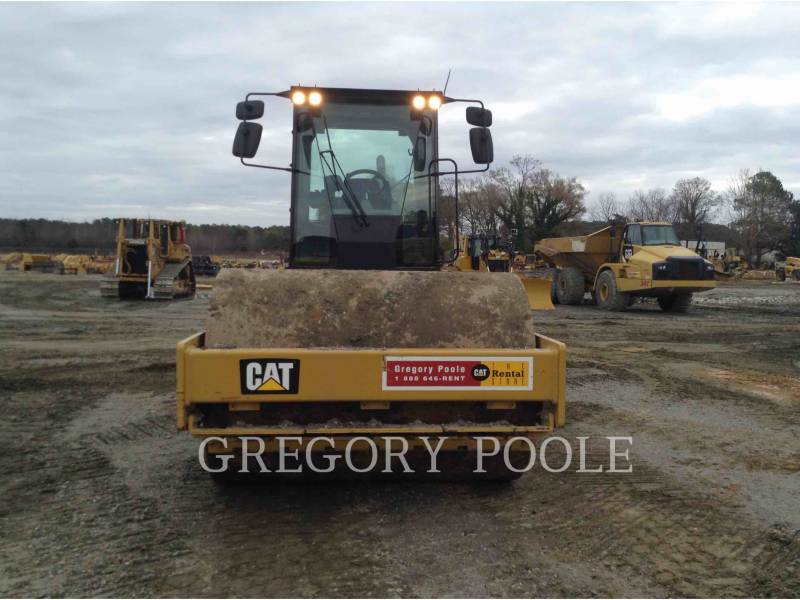 CATERPILLAR COMPATTATORE A SINGOLO TAMBURO VIBRANTE LISCIO CS54B equipment  photo 5