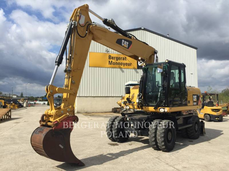 CATERPILLAR PELLES SUR PNEUS M316D equipment  photo 1
