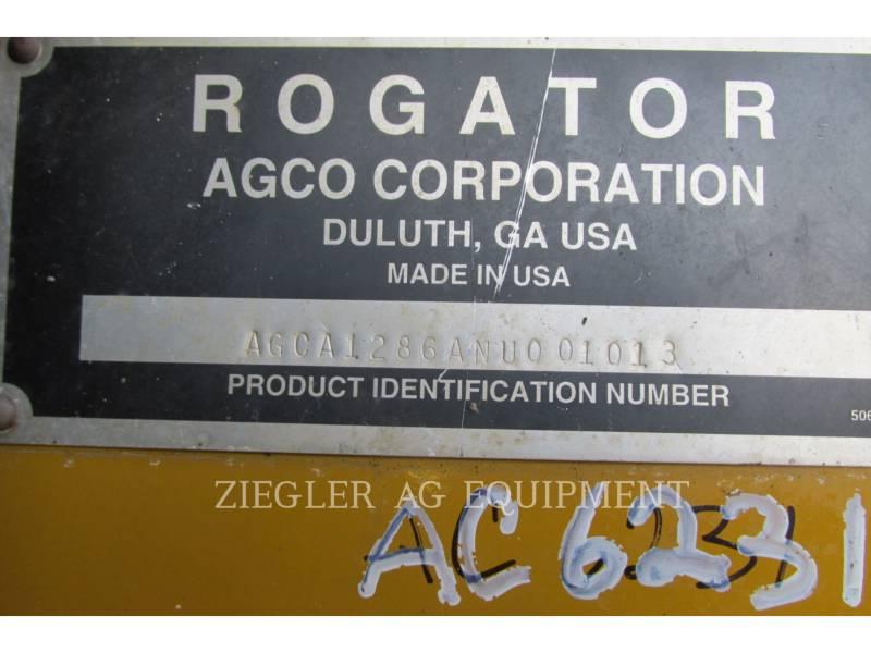 AG-CHEM SPRAYER 1286C equipment  photo 14