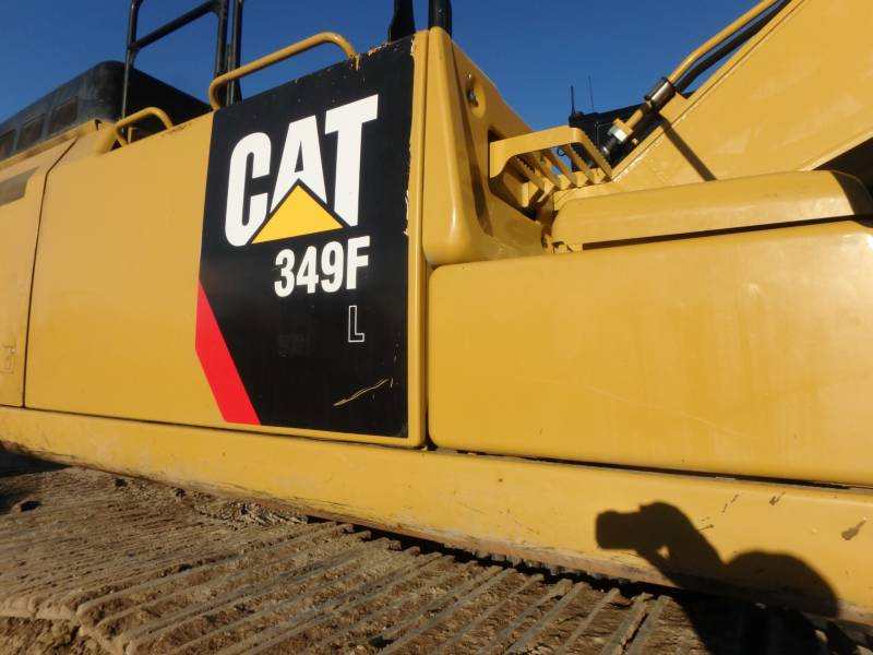 CATERPILLAR TRACK EXCAVATORS 349FL equipment  photo 11