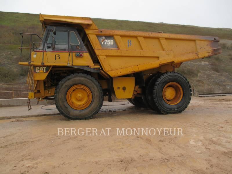 CATERPILLAR ダンプ・トラック 775D equipment  photo 6