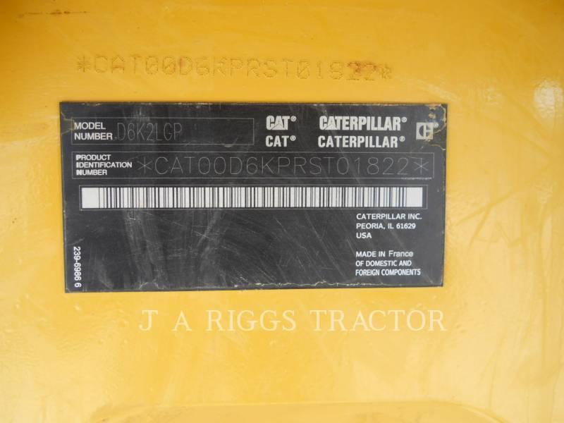 CATERPILLAR TRACTEURS SUR CHAINES D6KLGP A equipment  photo 15