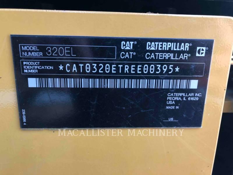 CATERPILLAR TRACK EXCAVATORS 320EL equipment  photo 7