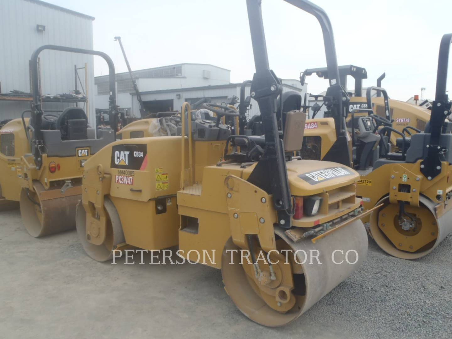 Detail photo of 2012 Caterpillar CB34 from Construction Equipment Guide