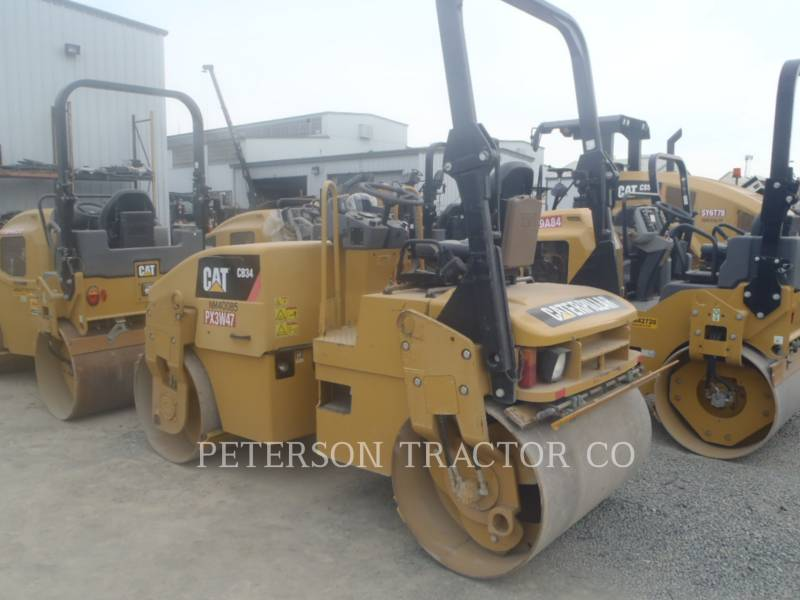 CATERPILLAR ASPHALT PAVERS CB34Q equipment  photo 3