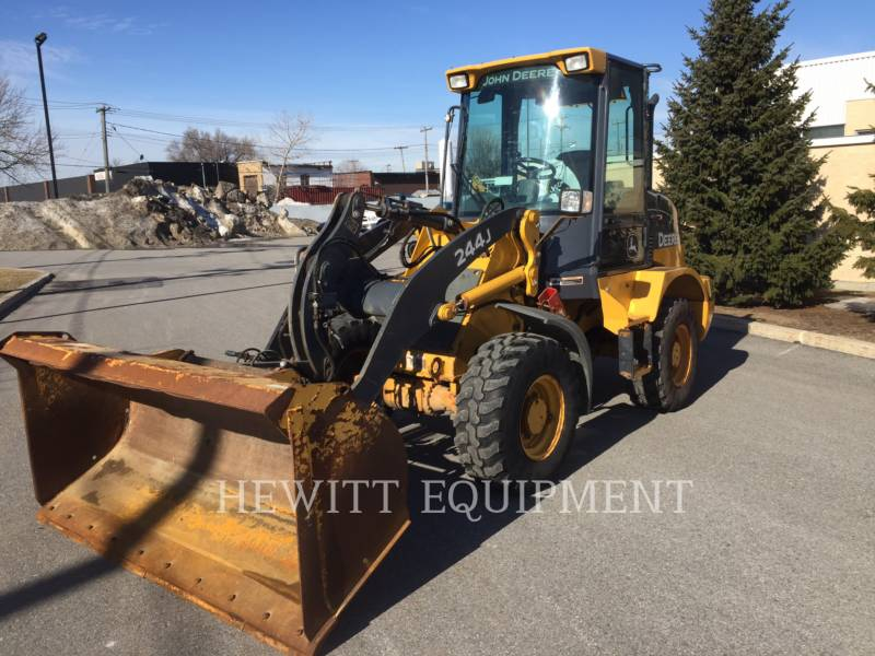 JOHN DEERE WHEEL LOADERS/INTEGRATED TOOLCARRIERS 244J equipment  photo 1