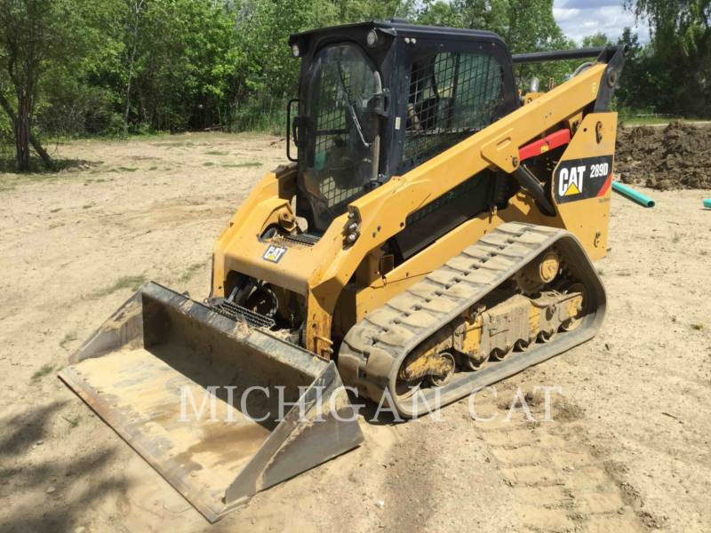 CATERPILLAR CARGADORES MULTITERRENO 289D A2Q equipment  photo 2