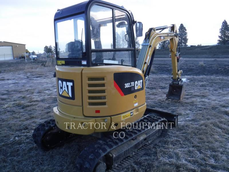 CATERPILLAR KOPARKI GĄSIENICOWE 302.7DCRCB equipment  photo 6