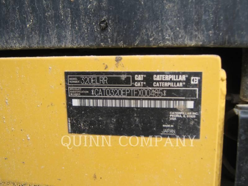 CATERPILLAR TRACK EXCAVATORS 320ELRR equipment  photo 7