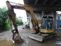 Equipment photo KOMATSU PC78MR KETTEN-HYDRAULIKBAGGER 1