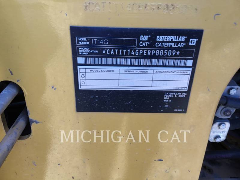 CATERPILLAR WHEEL LOADERS/INTEGRATED TOOLCARRIERS IT14G2 equipment  photo 17