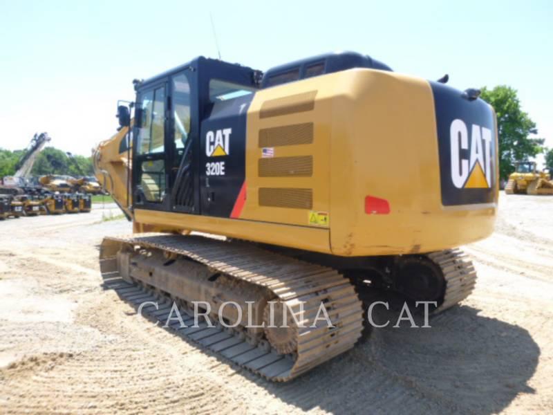 CATERPILLAR TRACK EXCAVATORS 320E equipment  photo 6