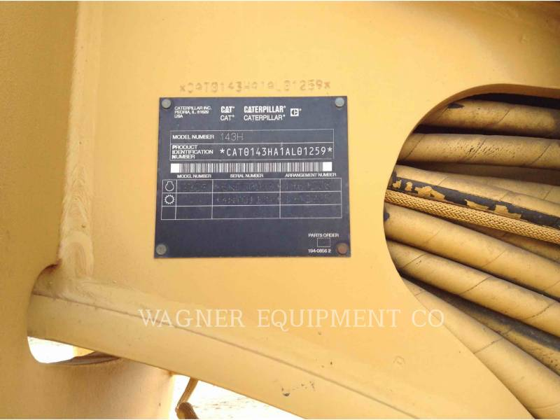 Caterpillar AUTOGREDERE 143H equipment  photo 5