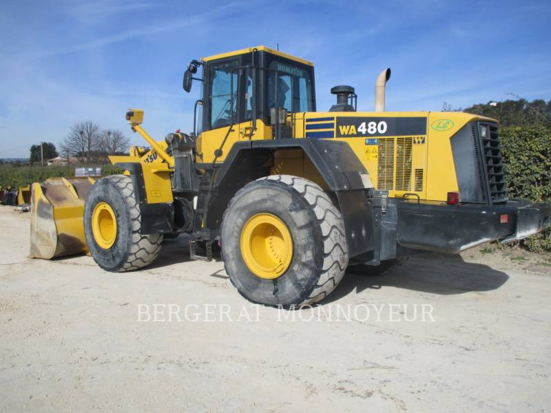 KOMATSU RADLADER/INDUSTRIE-RADLADER WA480.6 equipment  photo 7