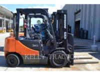 Equipment photo DOOSAN INFRACORE AMERICA CORP. D30S-5 FORKLIFTS 1
