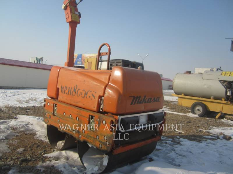 MULTIQUIP VIBRATORY TANDEM ROLLERS MRH800GS equipment  photo 9