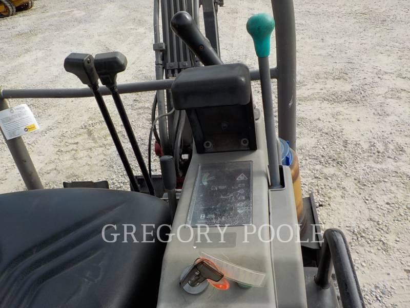 TAKEUCHI MFG. CO. LTD. TRACK EXCAVATORS TB016 equipment  photo 24