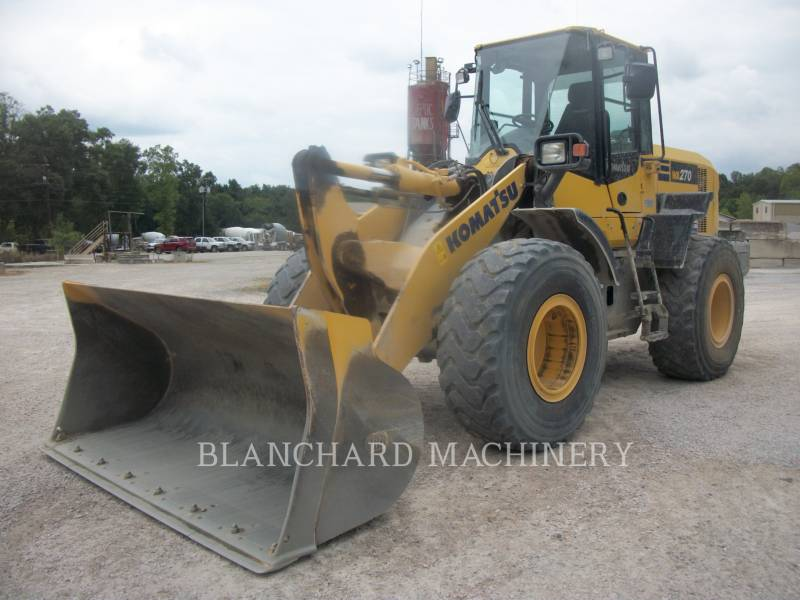 KOMATSU CARGADORES DE RUEDAS WA270 equipment  photo 2
