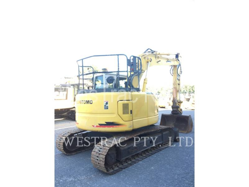SUMITOMO PELLES SUR CHAINES SH125X-3 equipment  photo 3