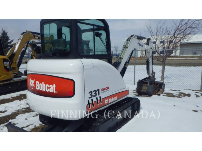 BOBCAT EXCAVADORAS DE CADENAS 331G equipment  photo 4