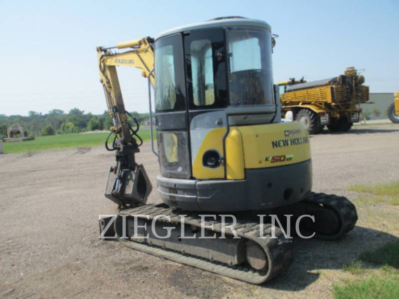 NEW HOLLAND LTD. KOPARKI GĄSIENICOWE E50SR equipment  photo 4