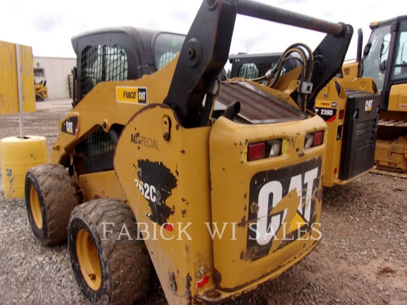 CATERPILLAR MINICARGADORAS 262C equipment  photo 4