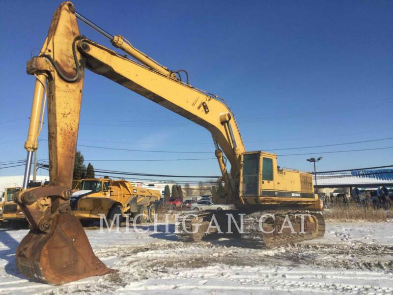 CATERPILLAR KETTEN-HYDRAULIKBAGGER 245B equipment  photo 2
