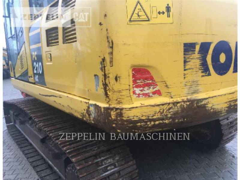 KOMATSU LTD. EXCAVADORAS DE CADENAS PC210-10 equipment  photo 8