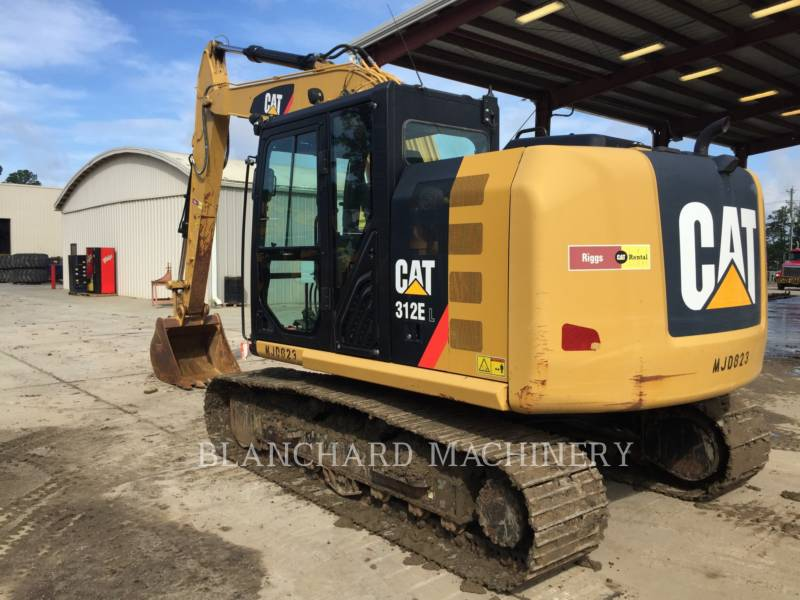 CATERPILLAR ESCAVATORI CINGOLATI 312EL equipment  photo 4