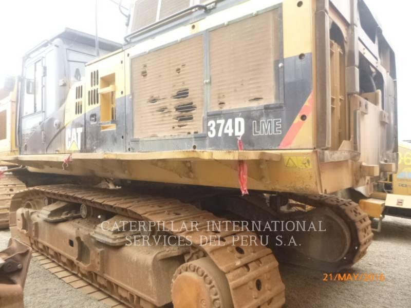 CATERPILLAR TRACK EXCAVATORS 374DL equipment  photo 4