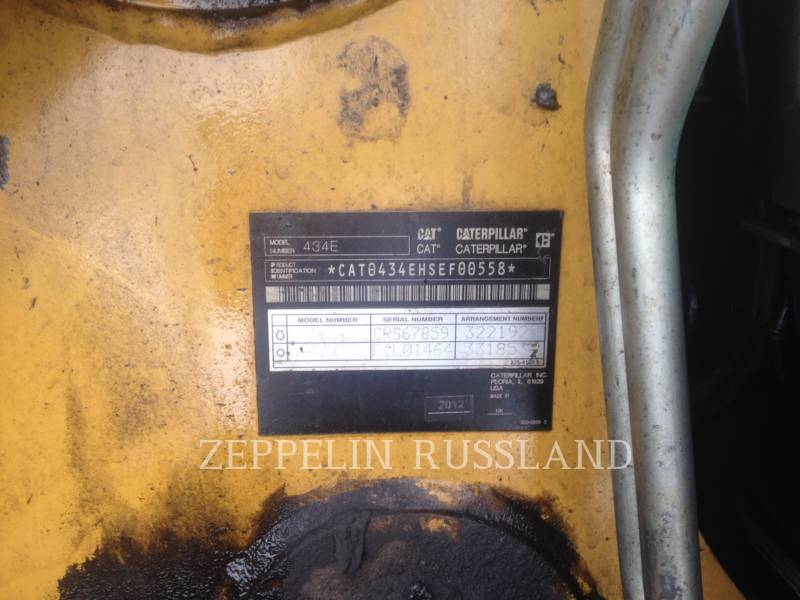CATERPILLAR BAGGERLADER 434E equipment  photo 20