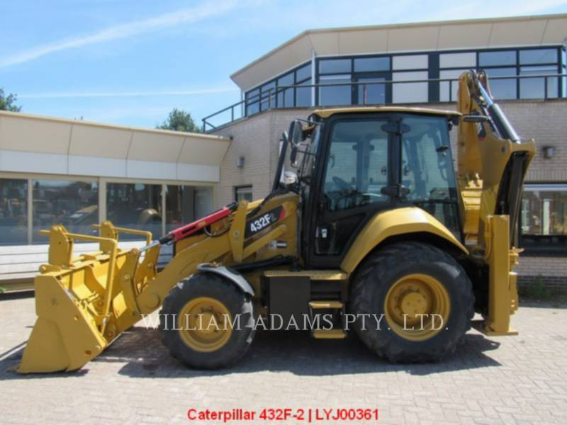 CATERPILLAR BACKHOE LOADERS 432F2LRC equipment  photo 2