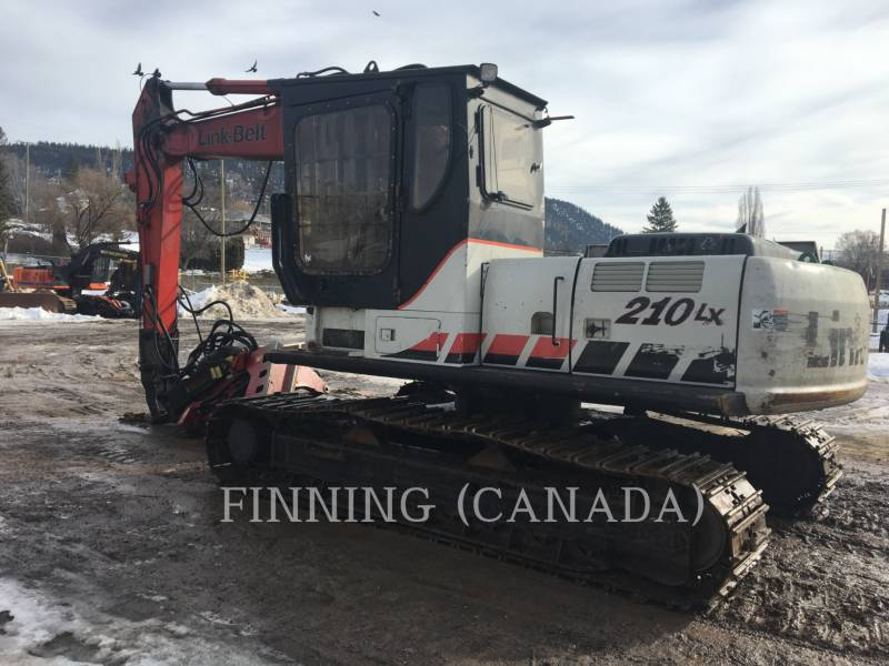 LINK-BELT CONSTRUCTION Forestal - Procesador 210LX equipment  photo 5