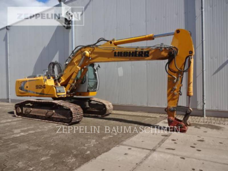 LIEBHERR PELLES SUR CHAINES R924 equipment  photo 3