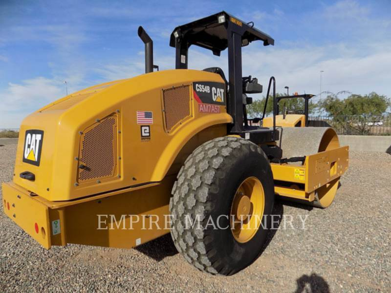 CATERPILLAR EINZELVIBRATIONSWALZE, GLATTBANDAGE CS54B equipment  photo 2