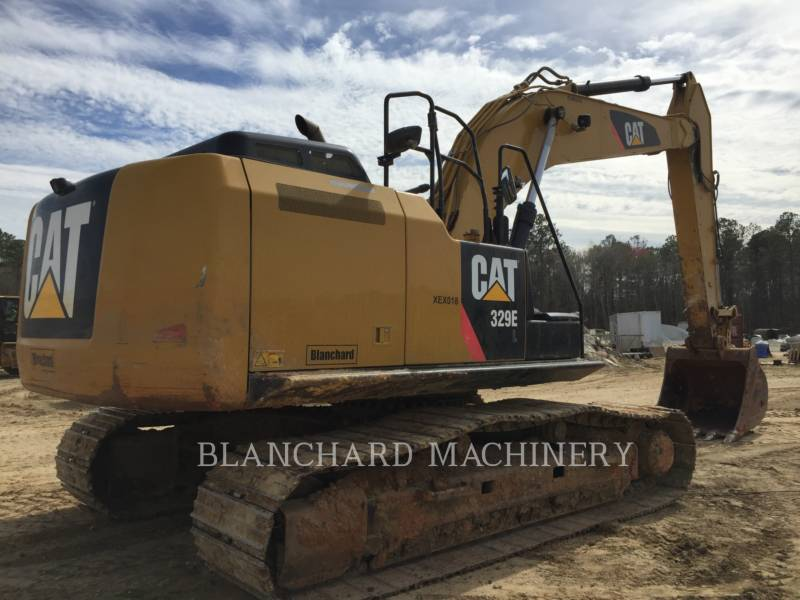 CATERPILLAR TRACK EXCAVATORS 329E equipment  photo 6