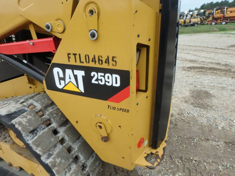 CATERPILLAR DELTALADER 259D equipment  photo 23