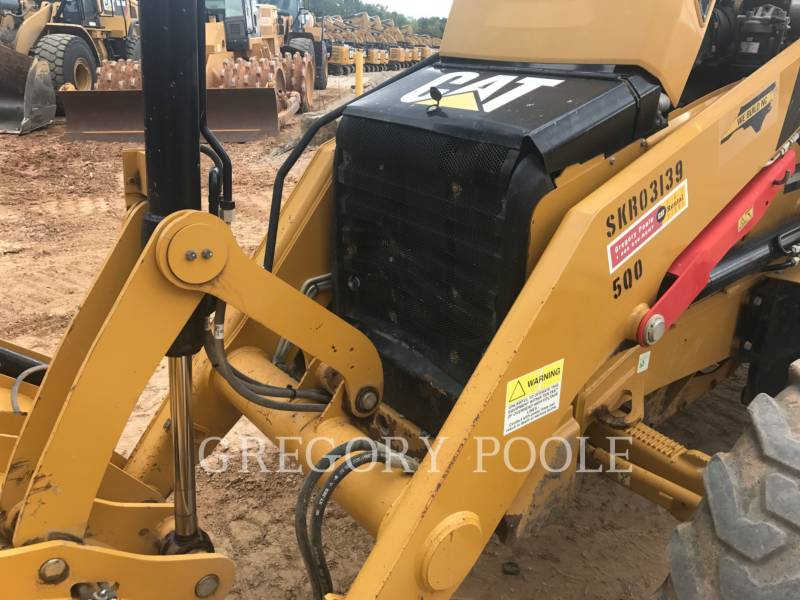 CATERPILLAR BAGGERLADER 420FST equipment  photo 18