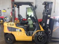 Equipment photo MITSUBISHI CATERPILLAR FORKLIFT GP25NM3 ELEVATOARE CU FURCĂ 1