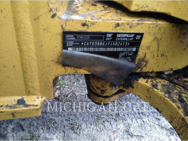 CATERPILLAR TRACK EXCAVATORS 308E2 TQ+ equipment  photo 23