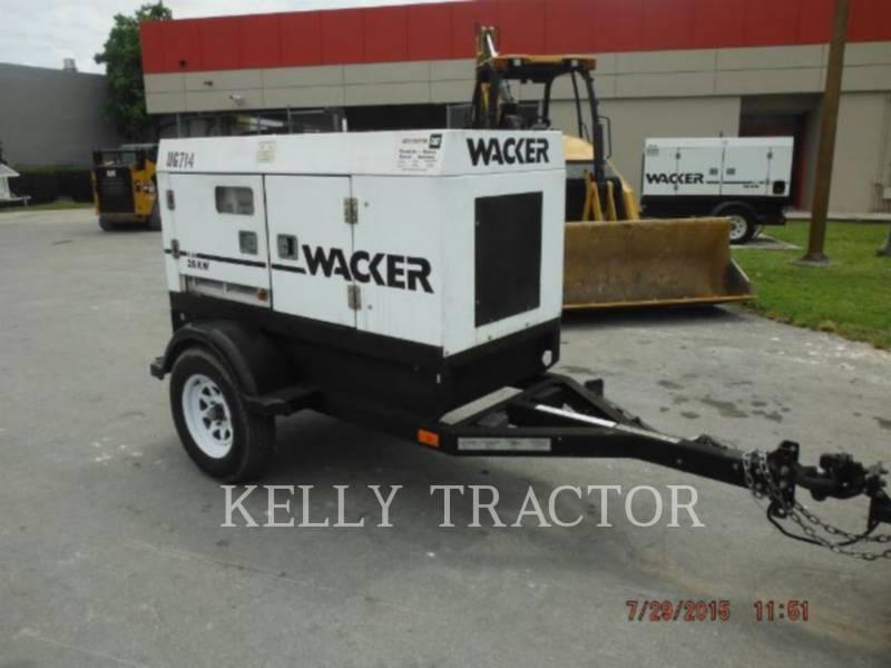 WACKER CORPORATION 移動式発電装置 G25 equipment  photo 1
