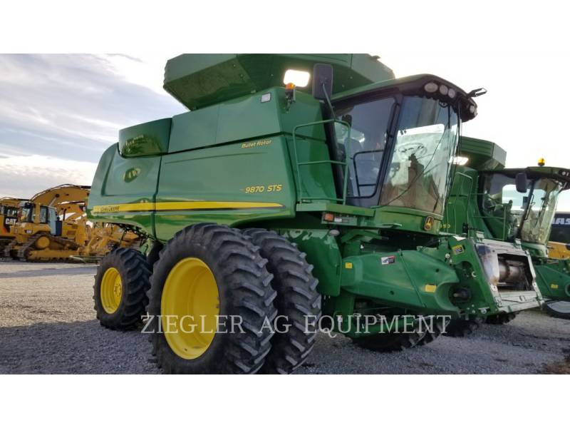 DEERE & CO. COMBINES 9870STS equipment  photo 4