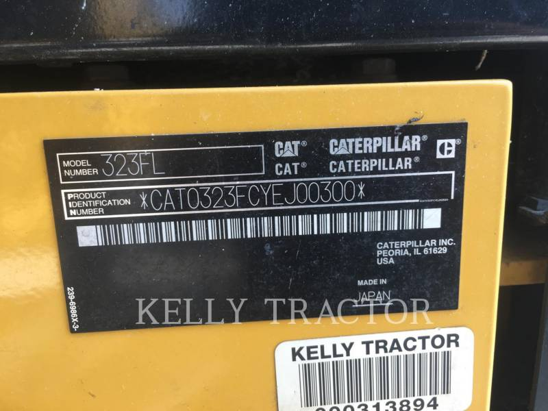 CATERPILLAR PELLES SUR CHAINES 323FL equipment  photo 19