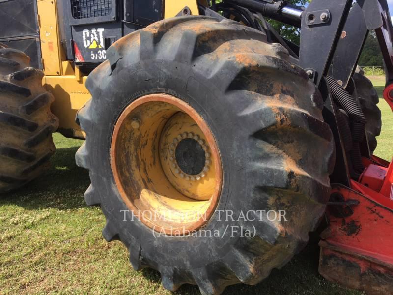 CATERPILLAR FORESTRY - FELLER BUNCHERS - WHEEL 573C equipment  photo 7