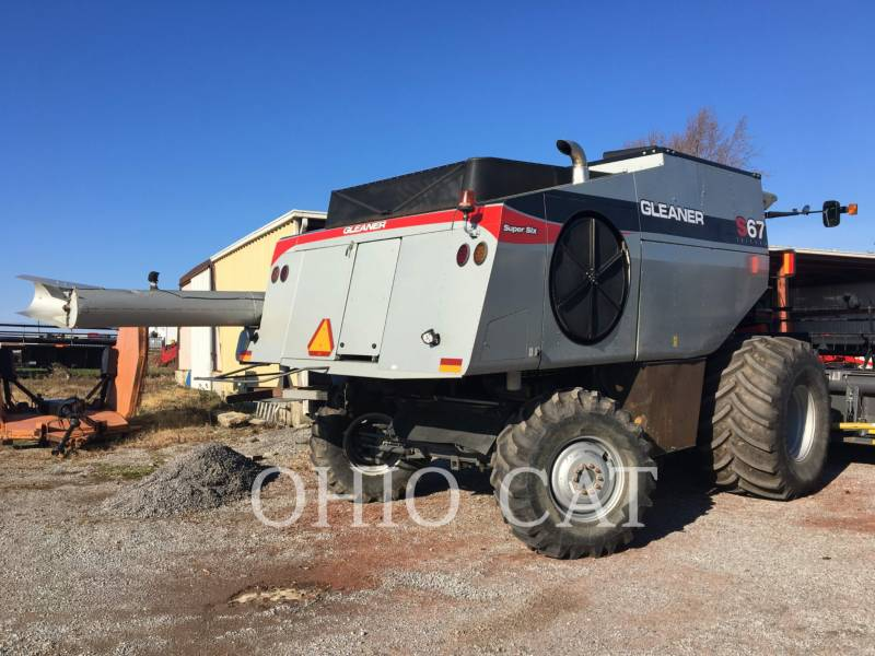 AGCO-GLEANER COMBINES S67 equipment  photo 6