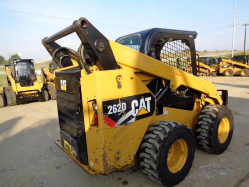 CATERPILLAR CHARGEURS COMPACTS RIGIDES 262D equipment  photo 5