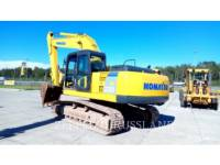 Equipment photo KOMATSU PC220LC-8 TRACK EXCAVATORS 1