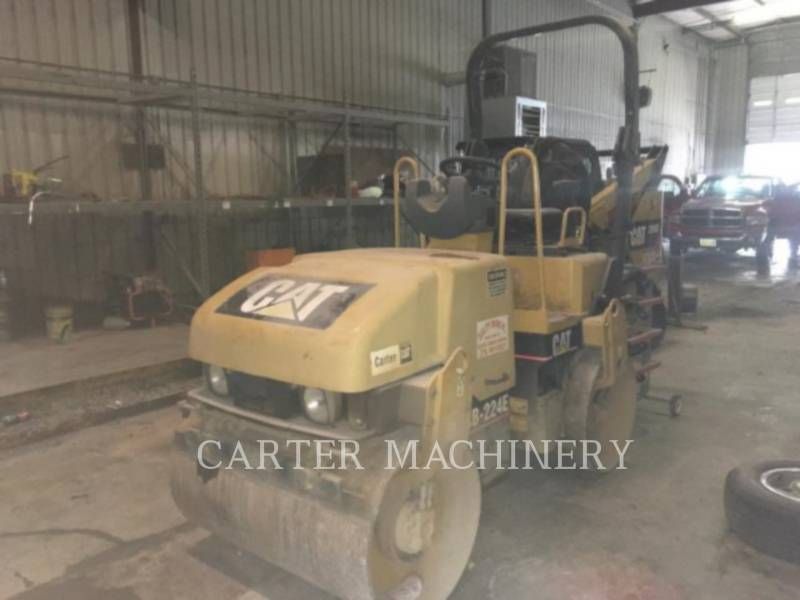 CATERPILLAR VIBRATORY DOUBLE DRUM ASPHALT CB-224E equipment  photo 4