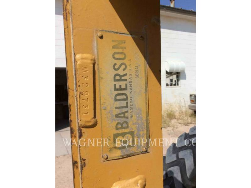 CATERPILLAR MOTORGRADER 140M2 equipment  photo 13